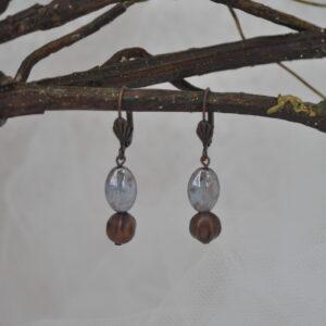 Boucles d'oreilles automne, Réf. 239