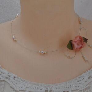 Collier Douce rose, Réf. 242