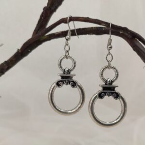 Boucles d'oreilles style grec, Olympe, Ref. 157