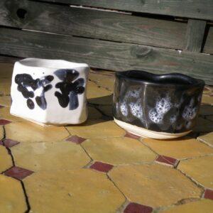 Duo tasses à café Yin et Yang