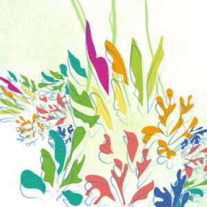 Aquarelle et numérique – Bouquet d'envol