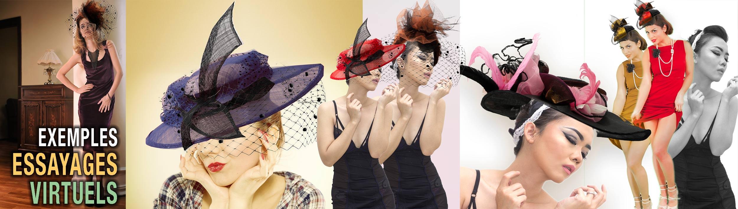 Essayage virtuel de votre chapeau sur-mesure
